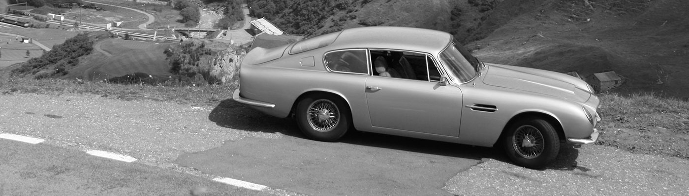 Aston Martin classic car restoration by Kai Barnett