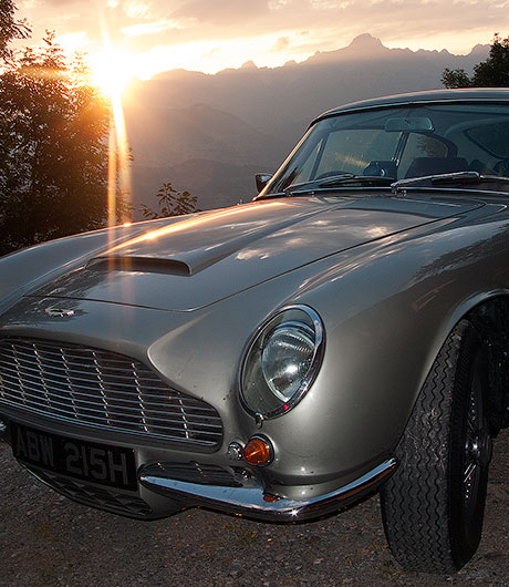 Aston Martin DB6 MK2 restoration project